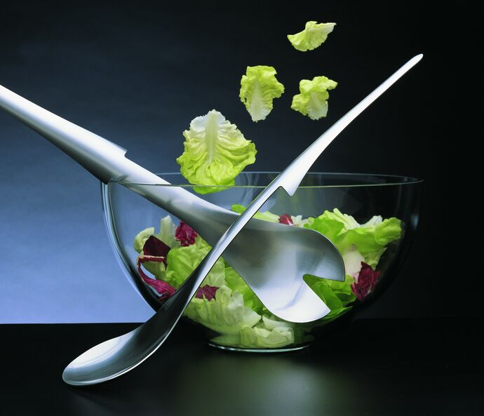 Mono Salado Salad hanging flatware